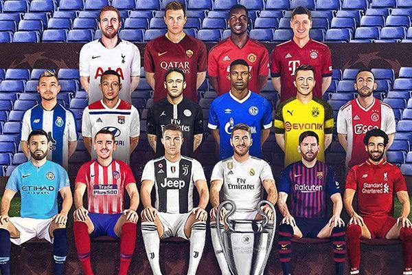 مروری بر دیدارهای جذاب لیگ قهرمانان اروپا، نبردهایی برای یک جام